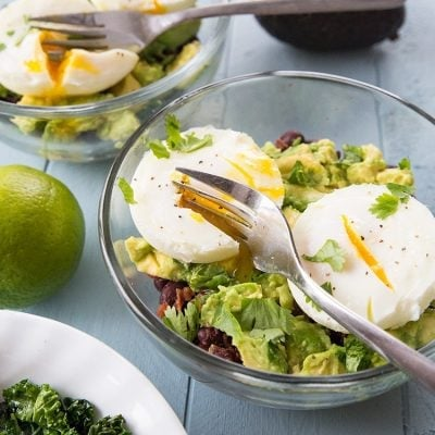 Tex Mex Kale Breakfast Goal Bowl