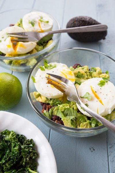 Tex Mex Kale Breakfast Goal Bowl