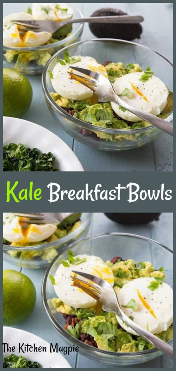 Tex Mex Kale Breakfast Goal Bowls are loaded with healthy foods to start your day out right! #kale #breakfast #eggs