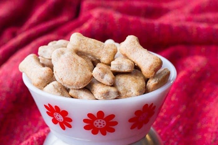 Cinnamon Apple Homemade Dog Treats