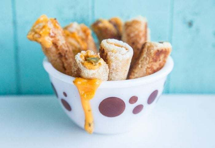 Jalapeno Grilled Cheese Rollups