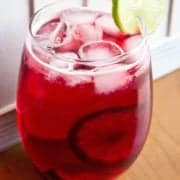 cranberry zombie cocktail