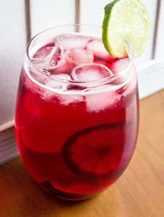 cranberry zombie cocktail