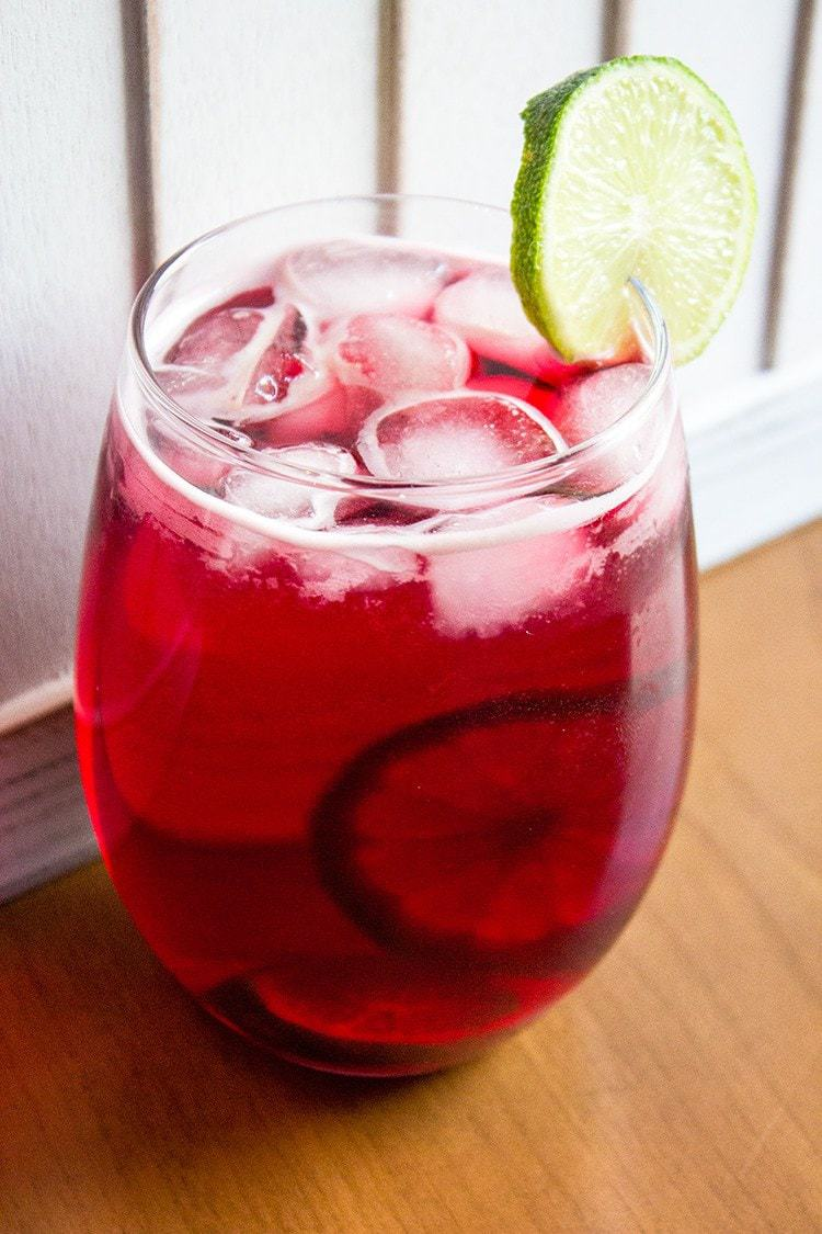 Cranberry Zombie Drink The Kitchen Magpie