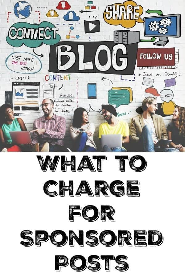 What to Charge for Sponsored Posts by @KitchenMagpie