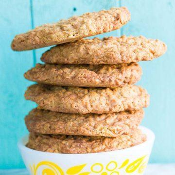 Butterscotch Oaties, AKA Oatmeal Scotchies Cookies