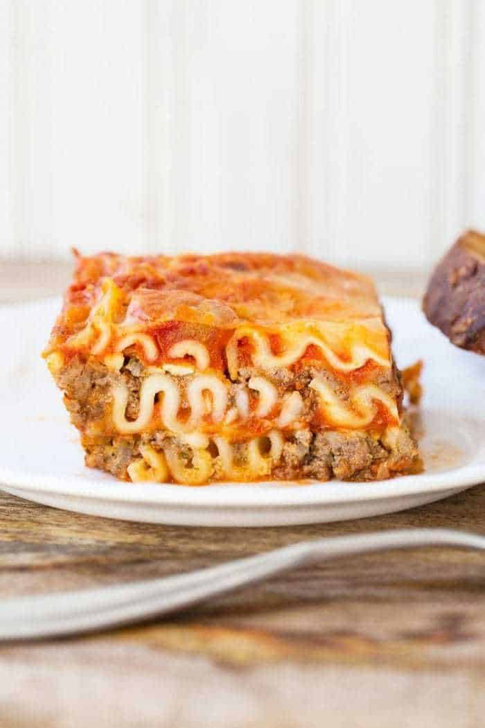Mom S Easy Cottage Cheese Lasagna The Kitchen Magpie