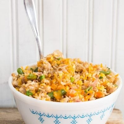 How to Make Easy Fried Rice : Recipe & Video!