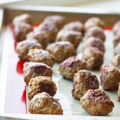 The Best Easy Homemade Meatballs Recipe