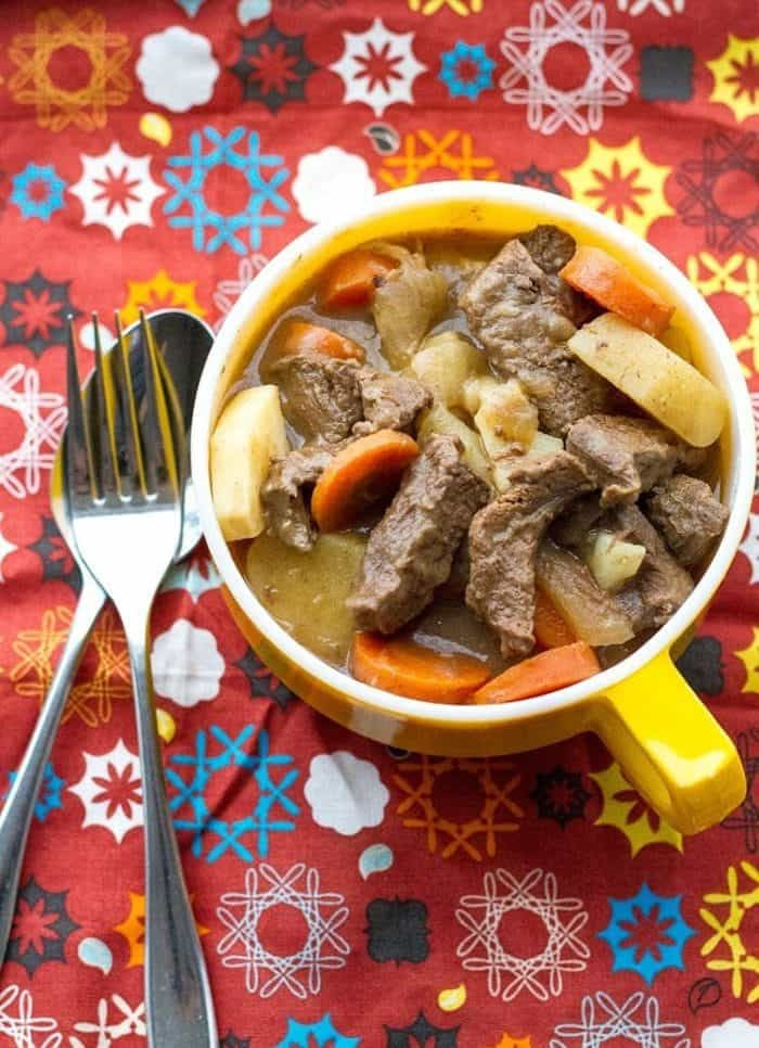 Venison Stew from Scratch. Easy and so delicious!