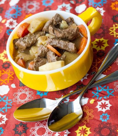 Venison Stew from Scratch