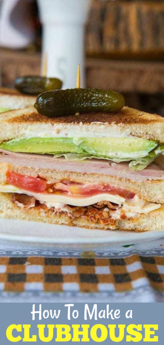How to make a fantastic clubhouse sandwich!