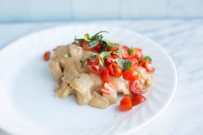 Bruschetta Chicken Simmer From @kitchenmagpie