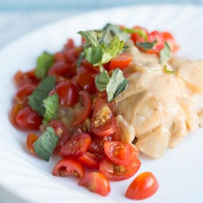 Bruschetta Chicken Simmer