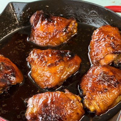 Mom's Easy Honey Garlic Chicken Recipe & Video