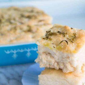 No Knead Focaccia Bread Recipe The Kitchen Magpie