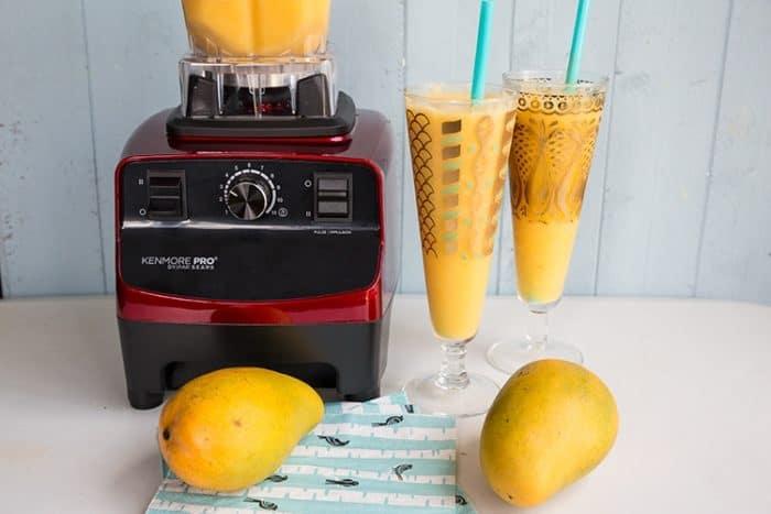 Pineapple Mango Margaritas