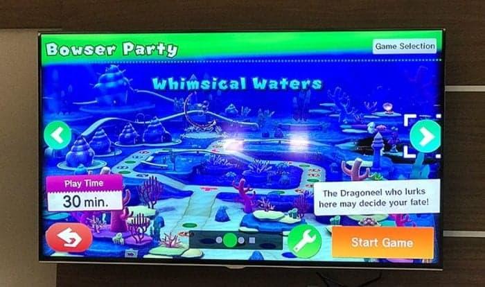 WiiU display in a monitor
