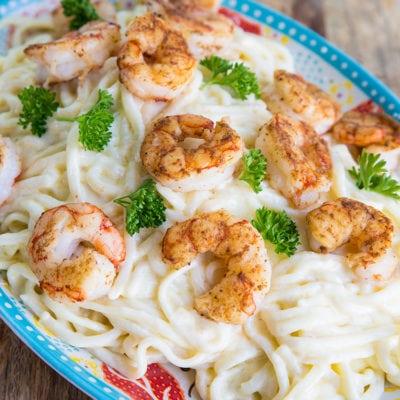 Shrimp Fettucine Alfredo