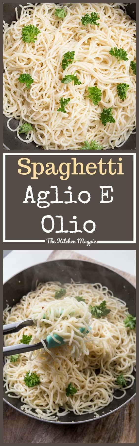 How to Make Spaghetti Aglio E Olio!