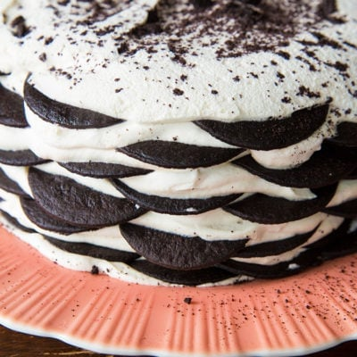 The Famous Chocolate Wafer Icebox Cake