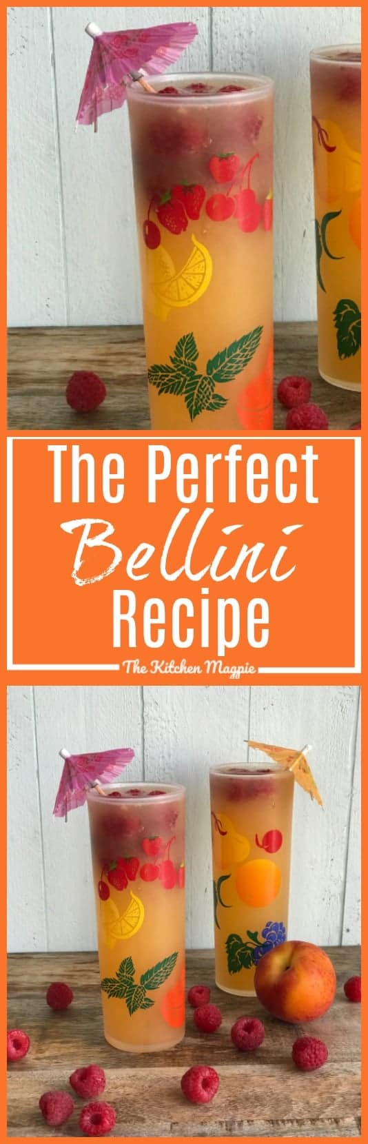 the perfect bellini recipe - pinterest