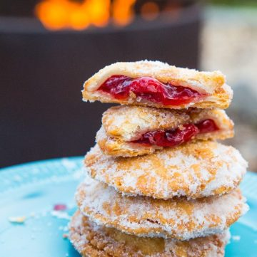 Campfire Cherry Hand Pies
