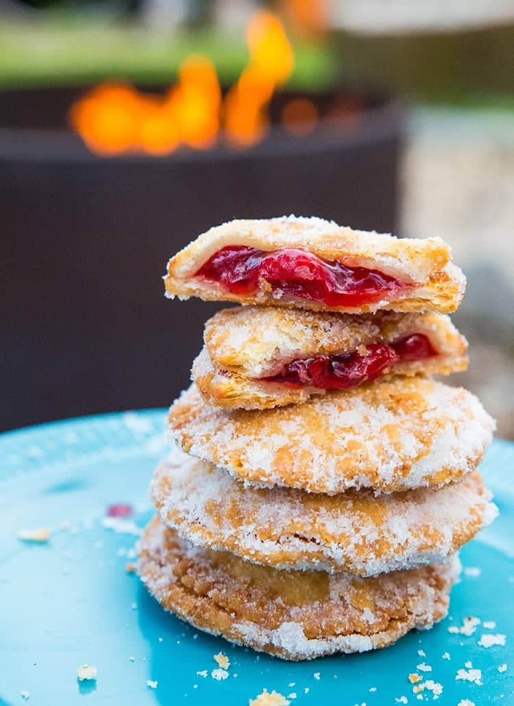 Campfire Cherry Hand Pies - The Kitchen Magpie
