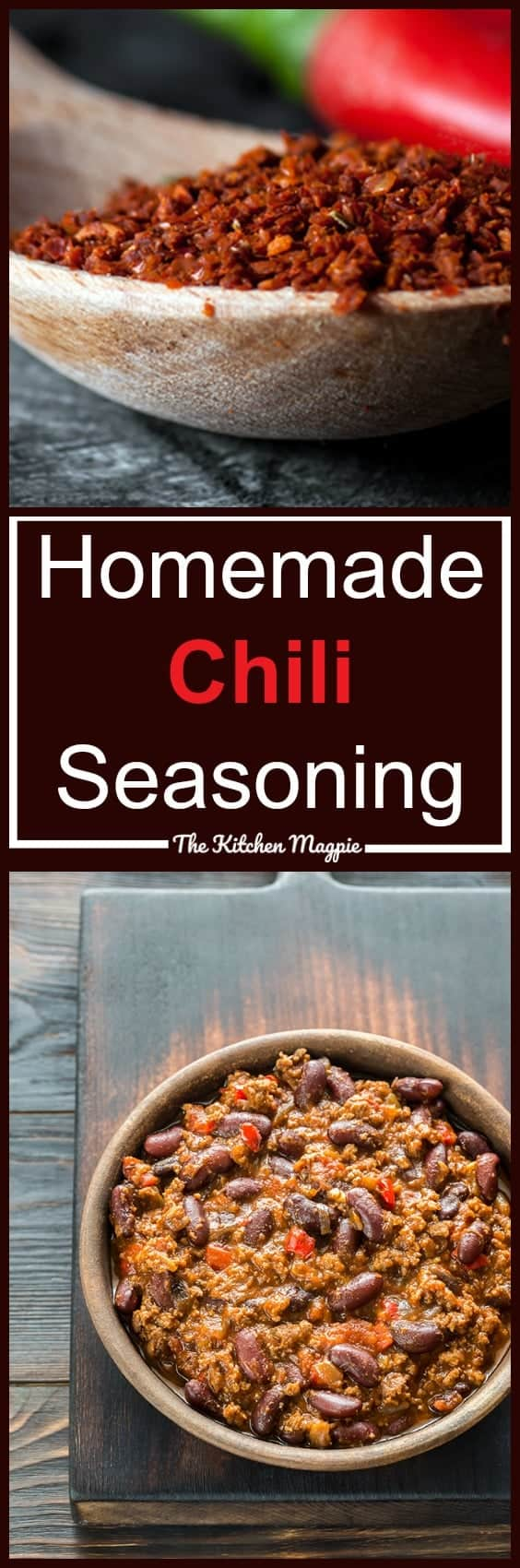 How to Make Homemade Chili Seasoning! This mix is perfect for whenever you need to make chili seasoning from scratch!