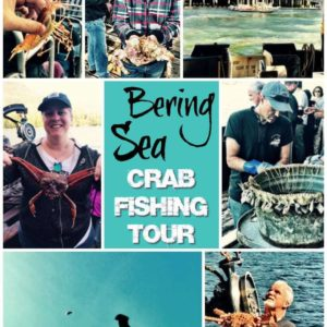 Collage photo from the Bering Sea Crab Fisherman's Tour, Ketchikan, Alaska