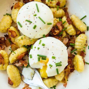 Gnocchi Breakfast Skillet