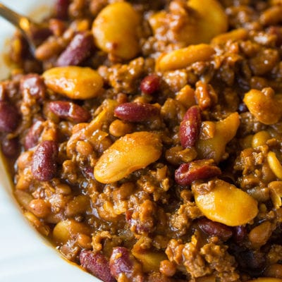 Slow Cooker Calico Beans Recipe
