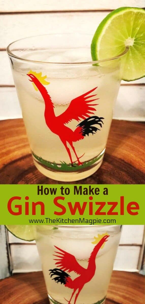 How to Make a Classic Gin Swizzle. #gin #cocktail