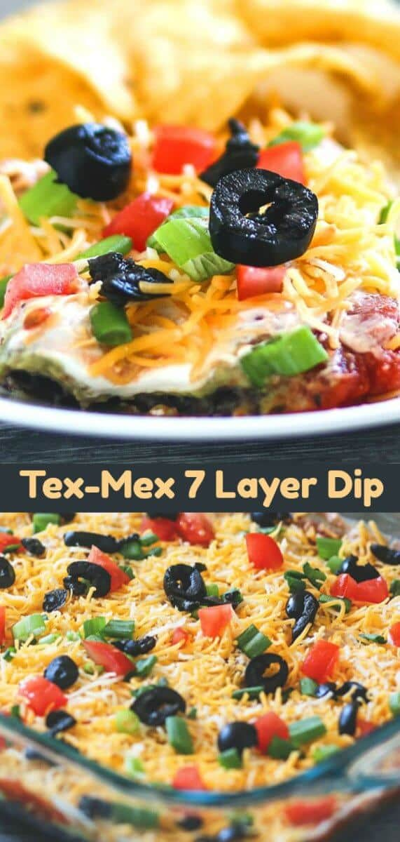 Nothing beats a classic 7 layer bean dip when it comes down to snacking! This classic dip has stood the test of time and is always a favourite appetizer or party food! #beandip #7layerdip #appetizer
