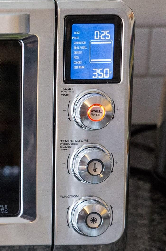 parts and functions of De'Longhi Livenza Convection Oven