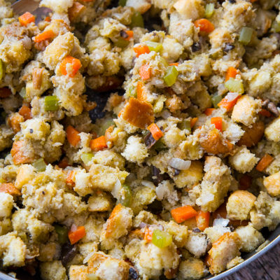 Mom's Homemade Stove Top Stuffing