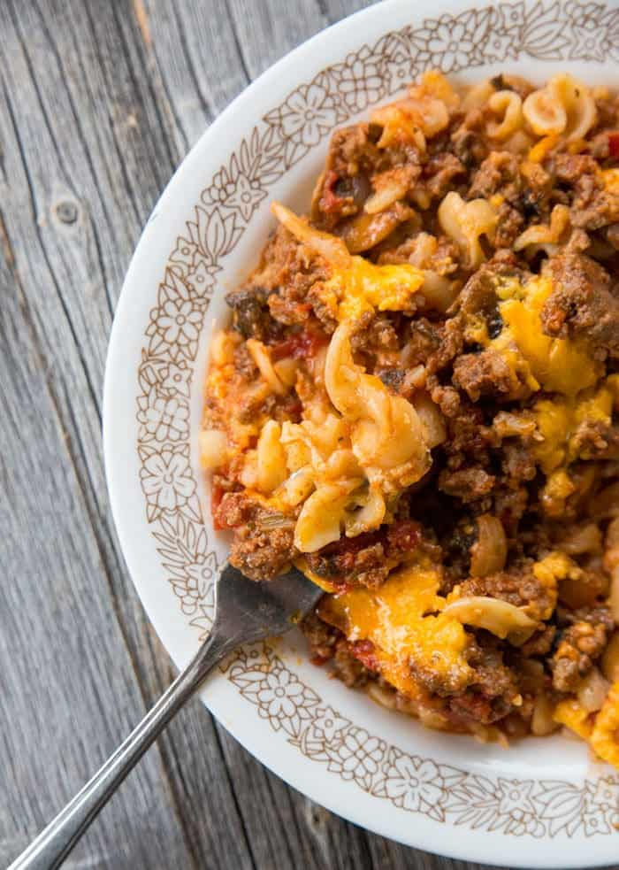 Ground Beef Recipe - Johnny Marzetti