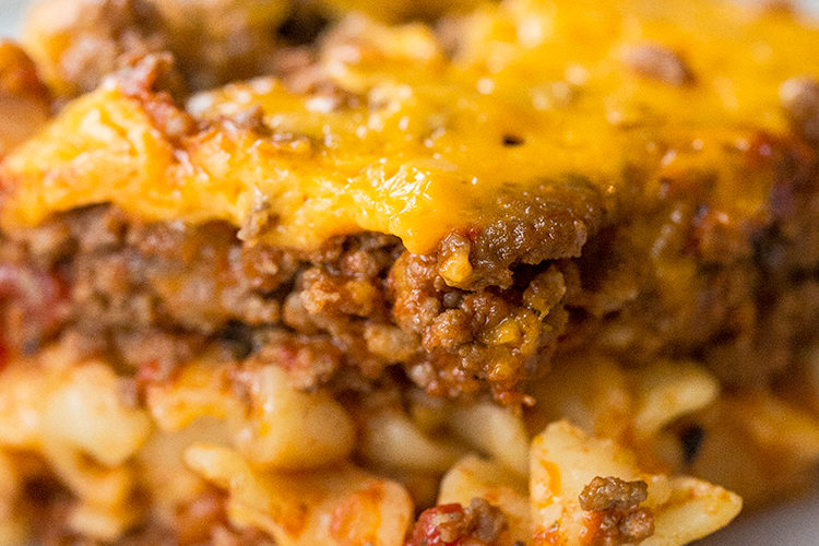 Johnny Marzetti Casserole – Slow Cooker or Oven!