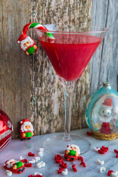 Shimmery Santa Baby Cocktail