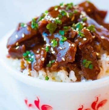Instant Pot Mongolian Beef – PF Chang's Copycat