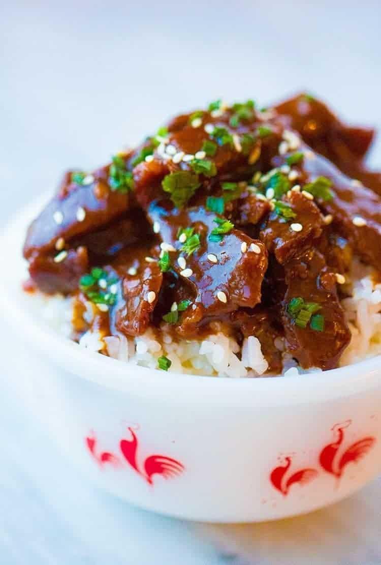 Instant Pot Mongolian Beef Pf Chang S Copycat The