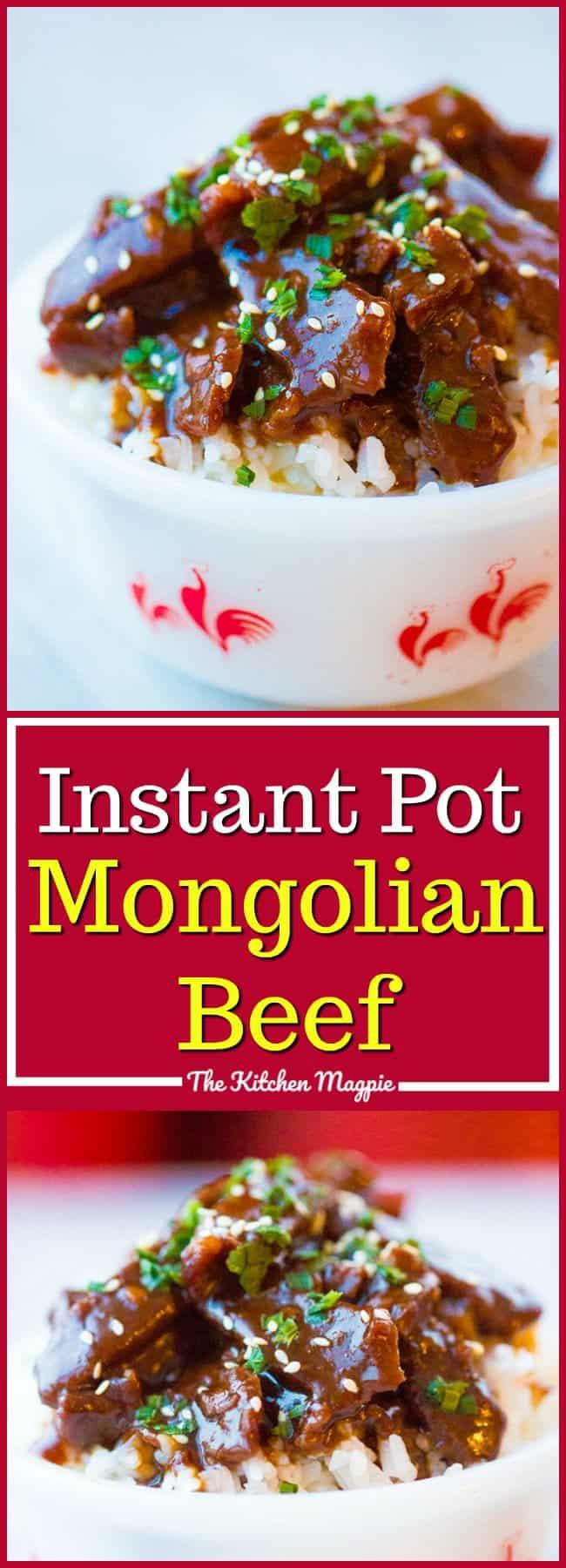 PF Chang's CopycatInstant Pot Mongolian Beef.. #mongolianbeef #instantpot #recipe #beef