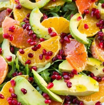 Winter Citrus Avocado Salad
