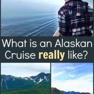 collage picture during Alaskan Cruise