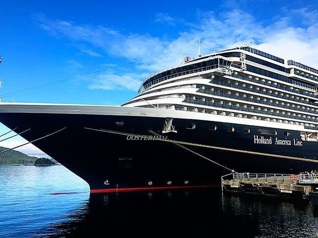 Our Alaskan Explorer Cruise On Holland America Ms Oosterdam The - Ms oosterdam