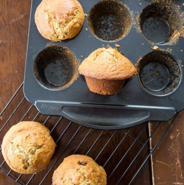 Six Week Raisin Bran Refrigerator Muffins