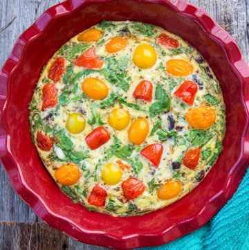 Mediterranean Vegetable Frittata Recipe