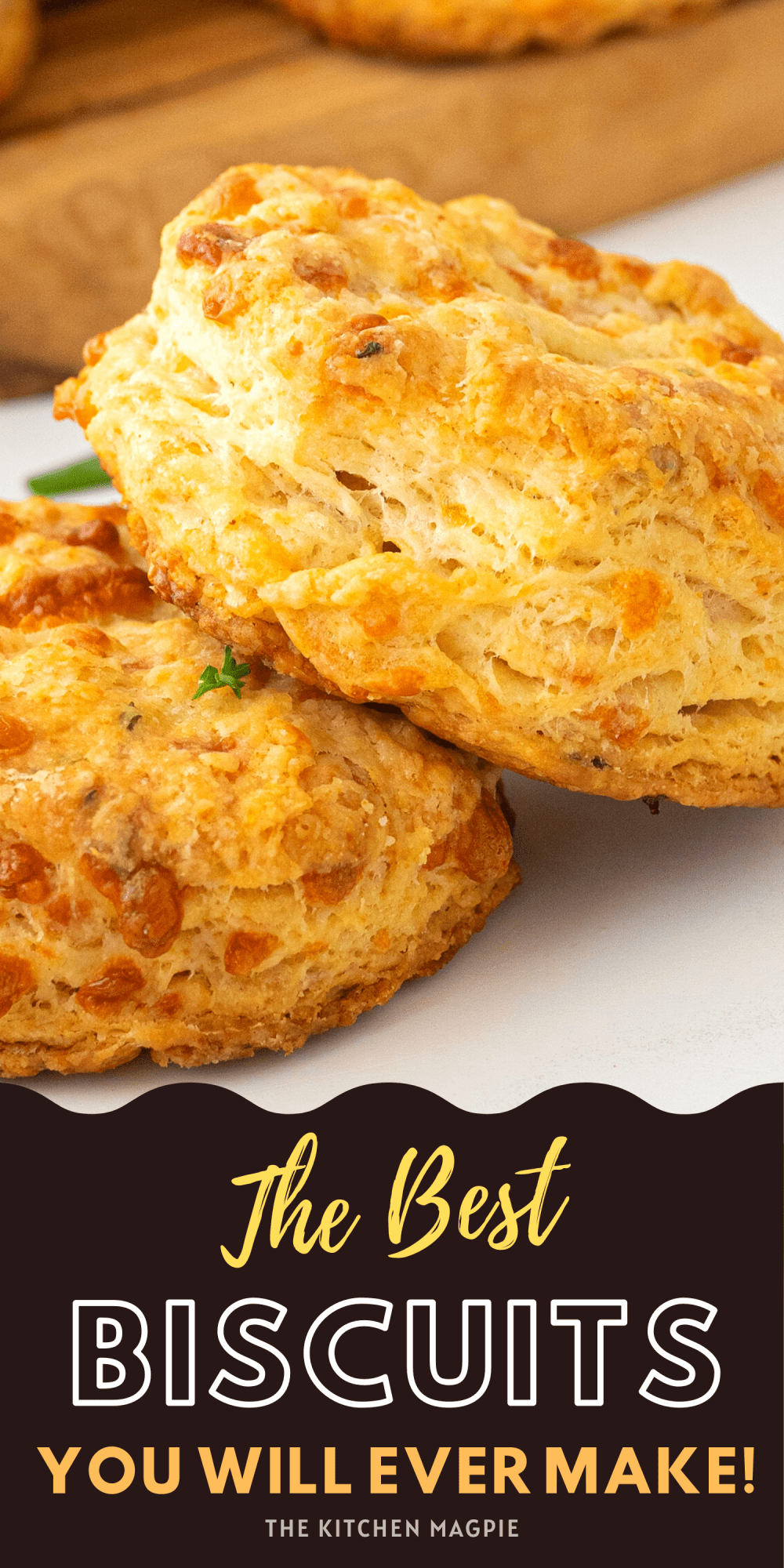 Hot, crispy, flakey biscuits! These are just like the famous garlic cheese biscuits at a local seafood chain but better hot and fresh from your own oven!