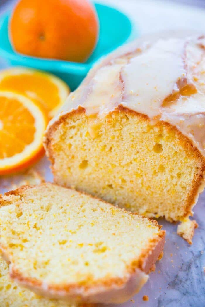 How to Make an Orange Icing Glaze