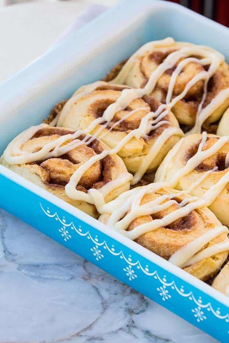 How To Make Fast Fluffy No Rise Cinnamon Rolls The Kitchen Magpie